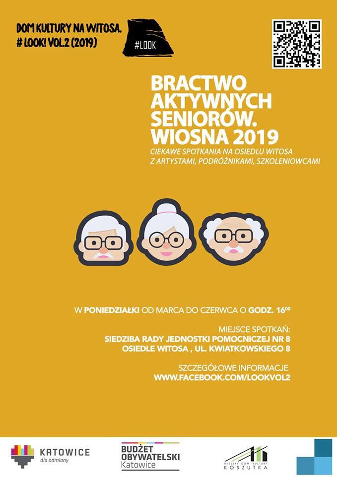 Plakat Bractwo Aktywnych Seniorów