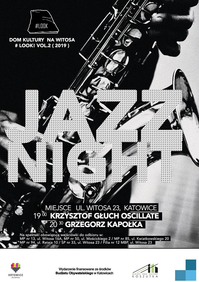 Plakat jazz night