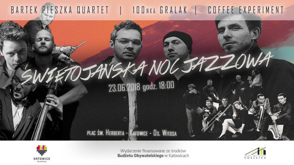Plakat Świętojańska Noc Jazzowa