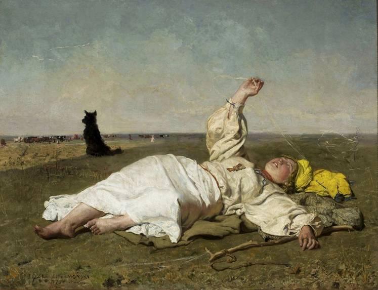 Babie lato Józef Chełmoński
