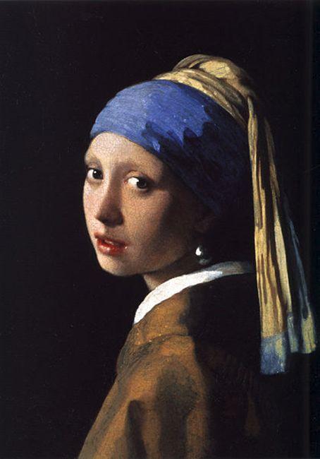 Dziewczyna z perłąJan Vermeer