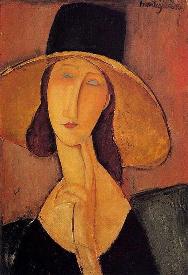 Kobieta w kapeluszuAmedeo Modigliani