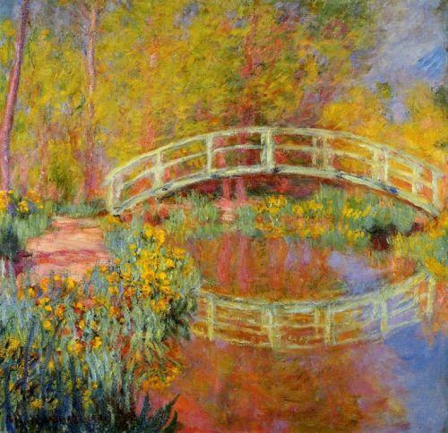 Claude Monet Japoński mostek w Giverny