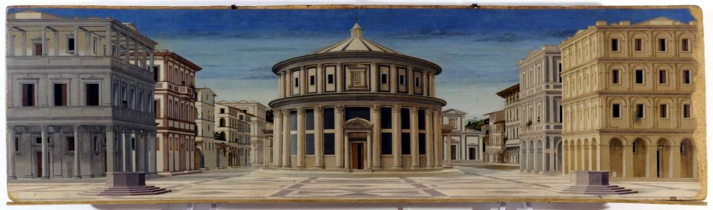 Idealne miasto ( 1475), Piero della Francesca