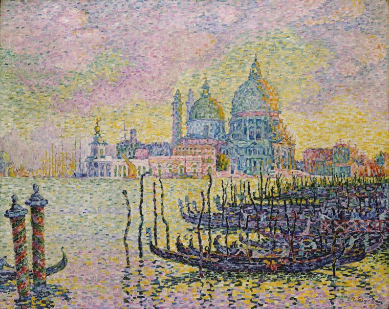 Wielki Kanał Wenecki Paul Signac