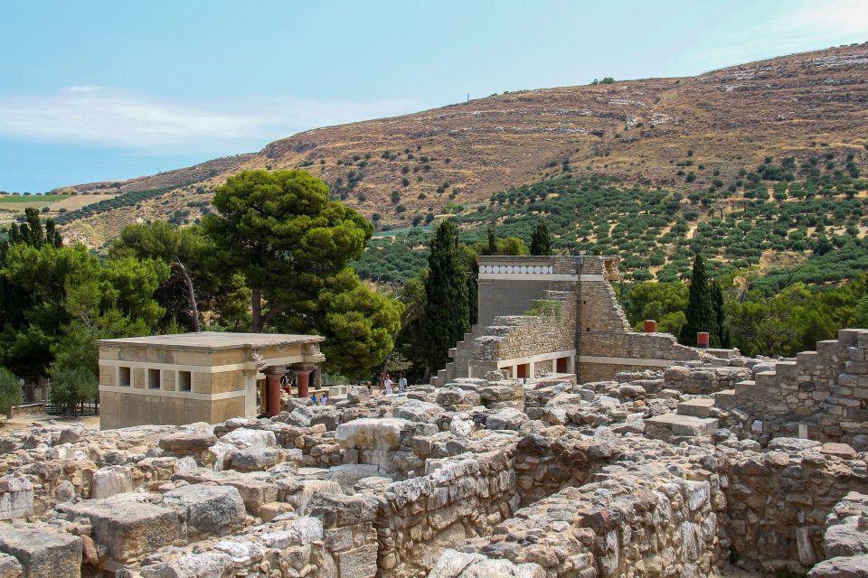 Zdjęcie ruin pałacu w Knossos